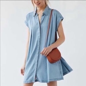 UO Cooperative chambray dress